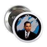 "Obama the President 2.25"" Button"