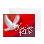 FOREVER YOURS Greeting Card