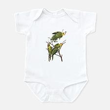 Parrots (Front only) Infant Bodysuit