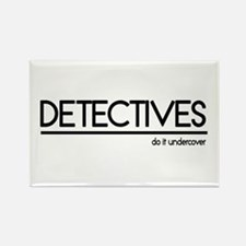 Detective Joke Rectangle Magnet