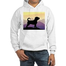 Purple Mountains Puggle Hoodie