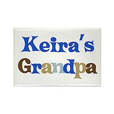 Keira's Grandpa Rectangle Magnet