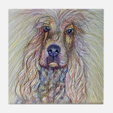 English Cocker Spaniel Tile Coaster