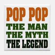 POP POP - the legend Tile Coaster