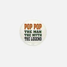 POP POP - the legend Mini Button (10 pack)