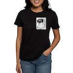 Helmet Shortface Pigeon Women's Dark T-Shirt