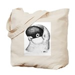 Helmet Shortface Pigeon Tote Bag