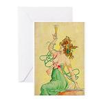 Absinthe Blanqui Greeting Cards (Pk of 10)