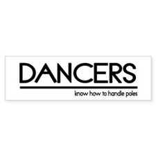 Dancer Joke #2 Bumper Bumper Sticker