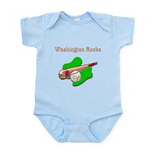 Washington Rocks Infant Bodysuit