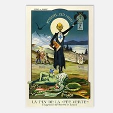 Swiss Absinthe Prohibition Postcards (Package of 8