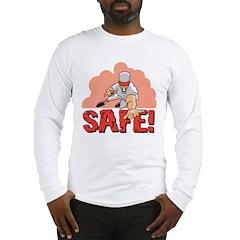 Baseball Safe Long Sleeve T-Shirt