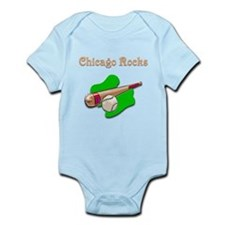 Chicago Rocks Infant Bodysuit