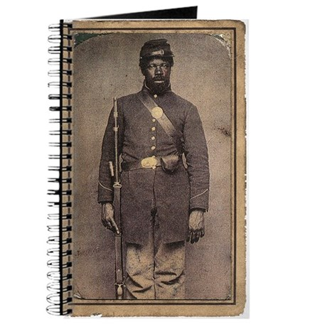 Civil War Soldier on Journal Cover