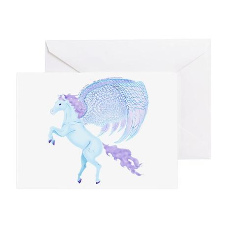 Birthday Pegasus Picture Greeting Card