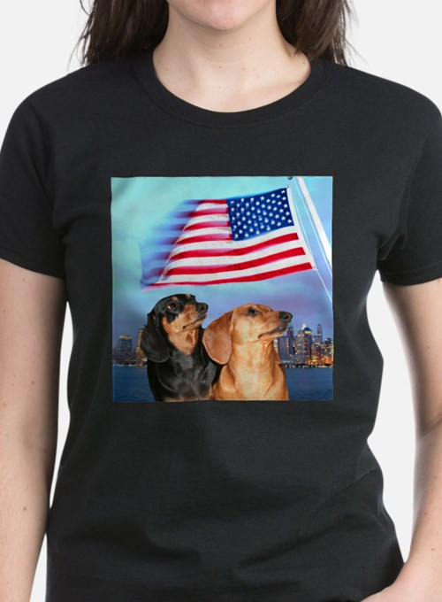 USA Dachshunds Tee