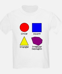 Shapes for Smart Babies T-Shirt