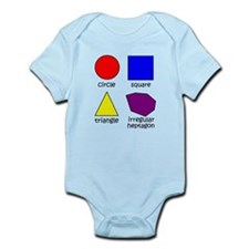 Shapes for Smart Babies Infant Bodysuit
