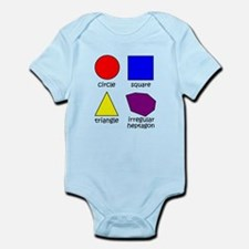 Shapes for Smart Babies Infant Bodysuit