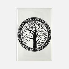 Cute Oak tree Rectangle Magnet