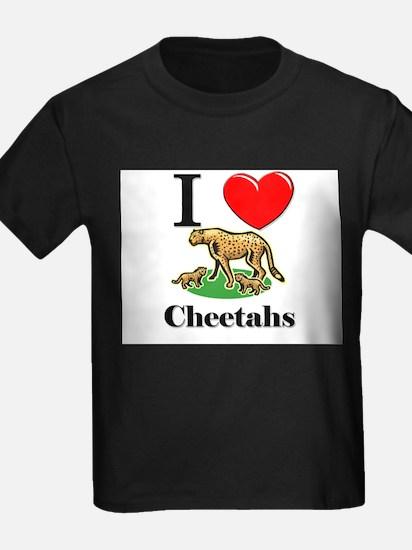 I Love Cheetahs T