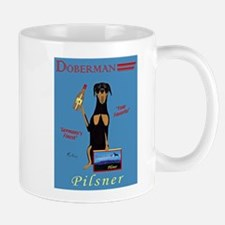 Doberman Pilsner Mug