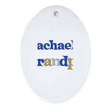 Rachael's Grandpa Oval Ornament