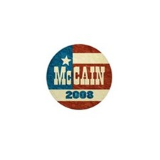 McCain 2008 retro Mini Button