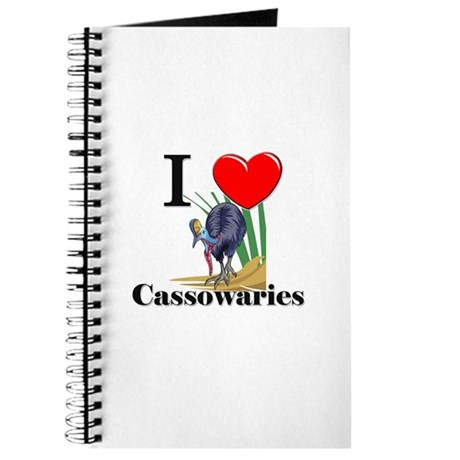 I Love Cassowaries Journal