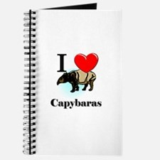 I Love Capybaras Journal
