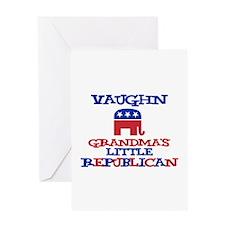 Vaughn - Grandma's Little Rep Greeting Card