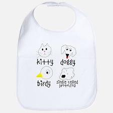 Animals for Smart Babies Bib
