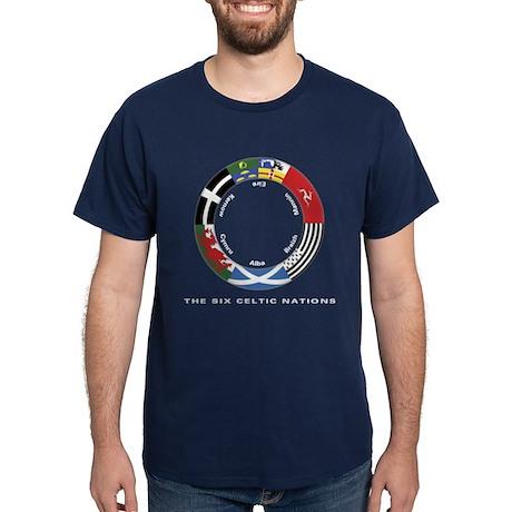 Celtic Nations Dark T-Shirt