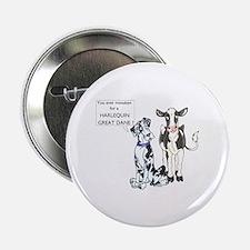 N Great Dane & Cow Button