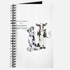 N Great Dane & Cow Notepad