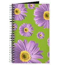 Pop Art Purple Daisy Journal
