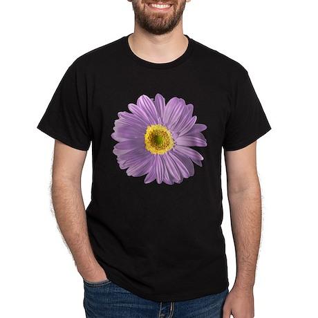Pop Art Purple Daisy Dark T-Shirt