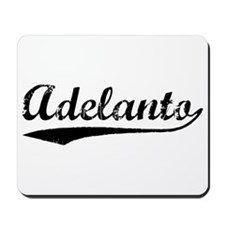 Vintage Adelanto (Black) Mousepad