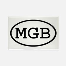 MGB Oval Rectangle Magnet