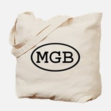MGB Oval Tote Bag