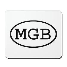 MGB Oval Mousepad