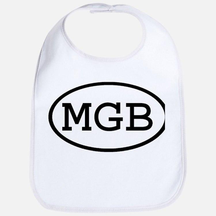 MGB Oval Bib