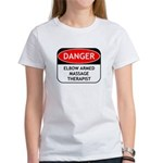 Elbow Armed Massage Therapist Women's T-Shirt