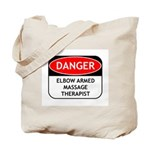 Elbow Armed Massage Therapist Tote Bag