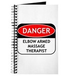 Elbow Armed Massage Therapist Journal