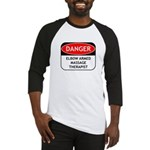Elbow Armed Massage Therapist Baseball Jersey