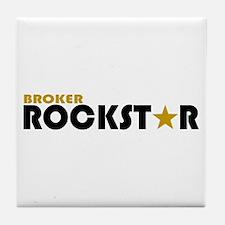 Broker Rockstar 2 Tile Coaster
