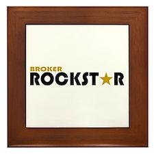Broker Rockstar 2 Framed Tile