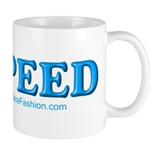 Love Speed Blue Mug