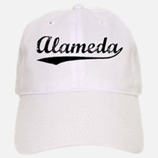 Vintage Alameda (Black) Baseball Baseball Cap